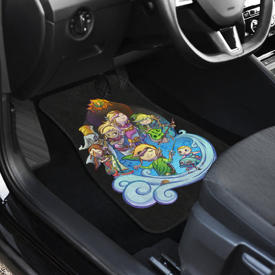 Breath The Wild Car Mats - 99Shirt
