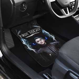 Arya Stark Not Today Car Mats