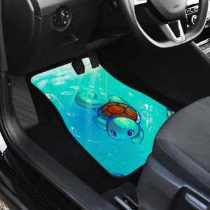 Squirtle Car Mats