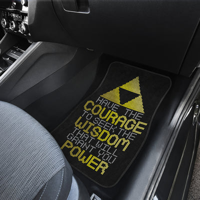 The Legend Of Zelda Front And Back Car Mats 40