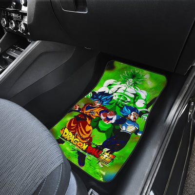Broly The Movie 2020 Car Mats