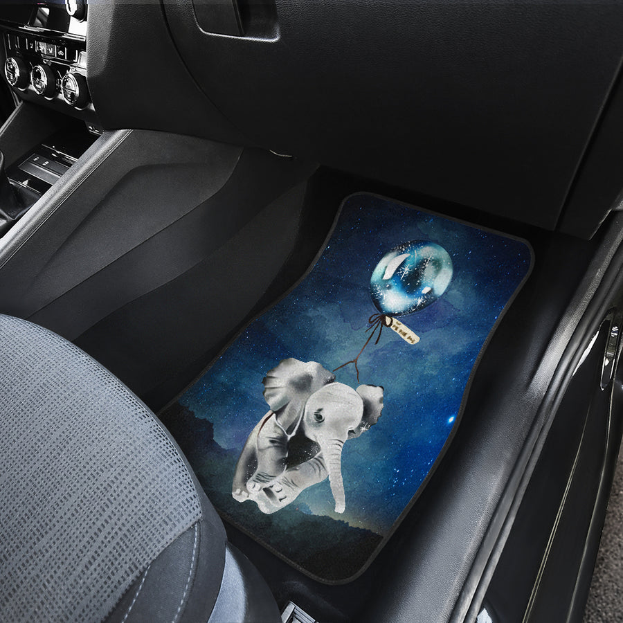 Baby Elephant Bubble Car Mats