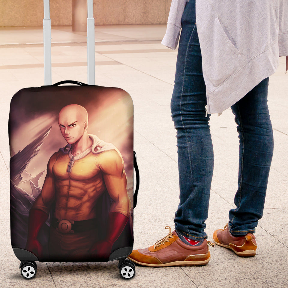 Saitama One Punch Man 2020 Luggage Covers