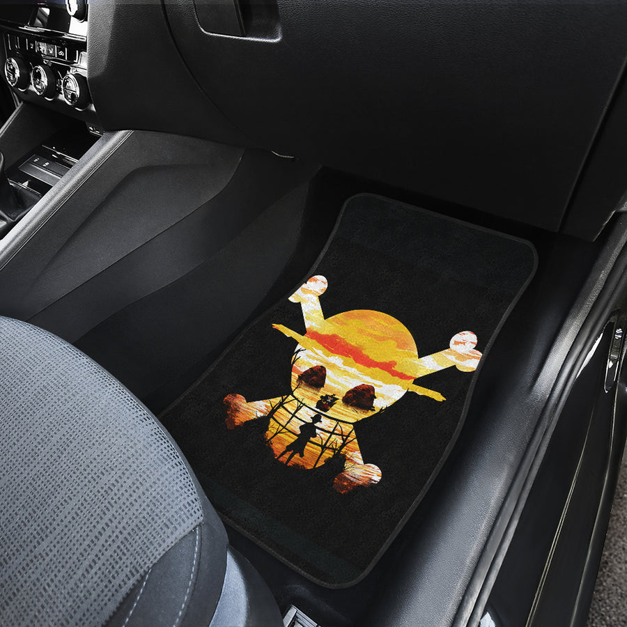 One Piece Front And Back Car Mats