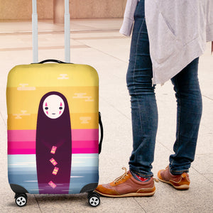 No Face Luggage Covers