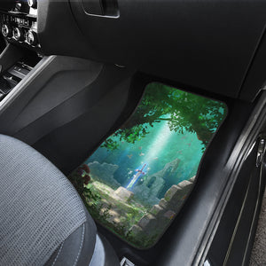 The Legend Of Zelda Front And Back Car Mats 32