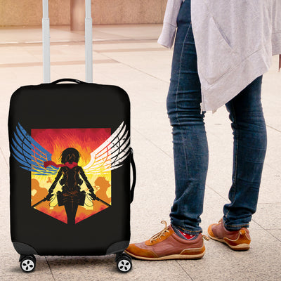 Mikasa Attack On Titan Luggage Covers
