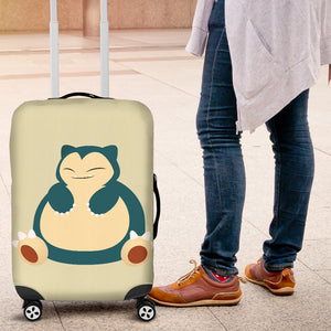 Snorlax Luggage Covers
