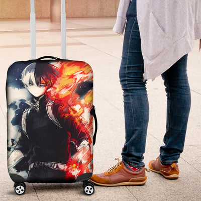 Shouto Todoroki Luggage Covers