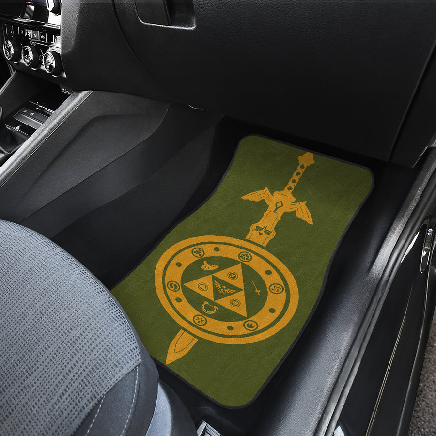 Legend Of Zelda Car Mats 3