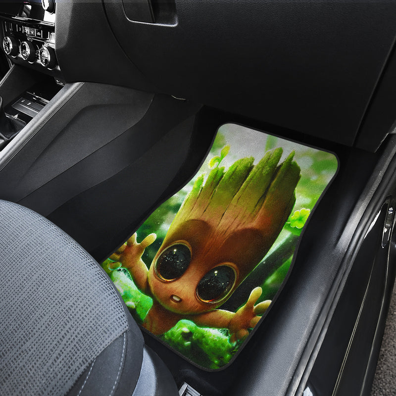 Baby Groot Cute Car Mats