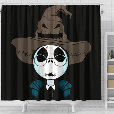 Jack Skellington Shower Curtain 1