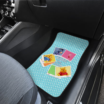 Winnie The Pooh Front And Back Car Mats 14 (Set Of 4)