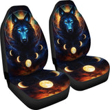 Wolf Moon Car Seat Covers