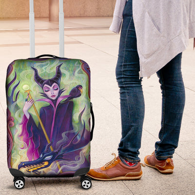 Maleficent Luggage Covers