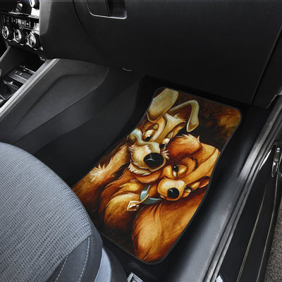 Lady And The Tramp Car Mats