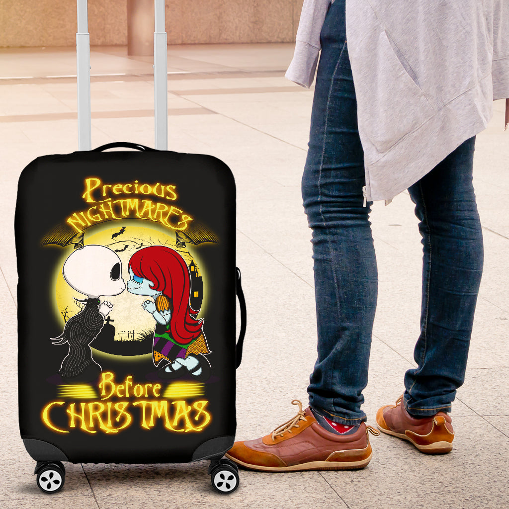 Nightmare Before Christmas Luggage Covers 4