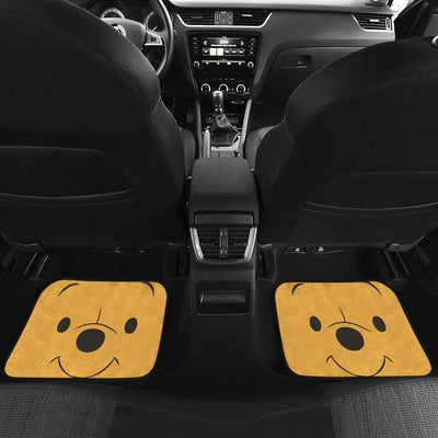 Winnie The Pooh Front And Back Car Mats 2 (Set Of 4)