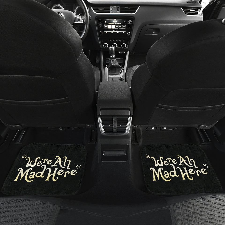 Cheshire Cat Alice In Wonderland Car Mats