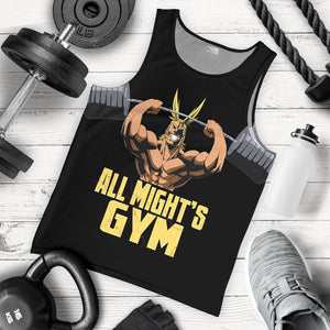 All Might Gym Tank Top
