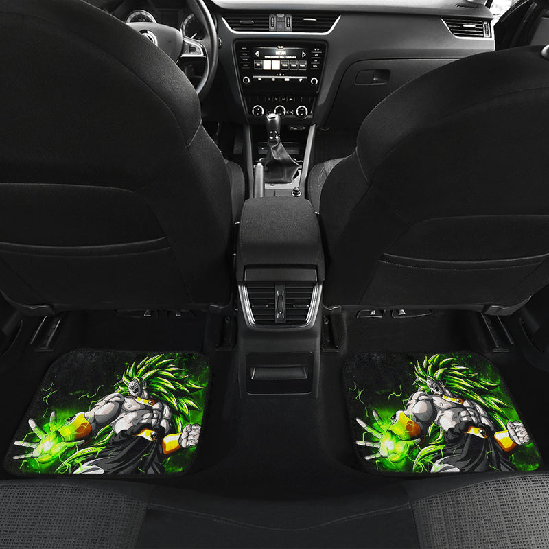 Broly Front And Back Car Mats (Set Of 4)