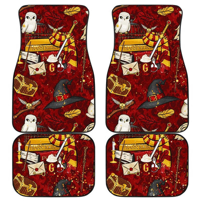 Harry Potter Front And Back Car Mats (Set Of 4) - 99Shirt