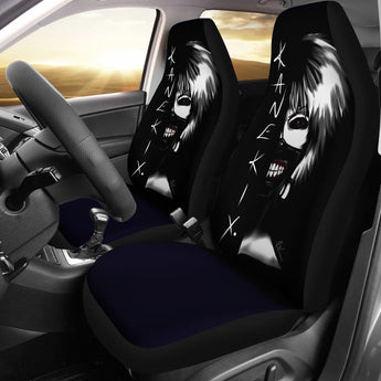 Ken Kaneki Car Seat Covers 2 - 99Shirt