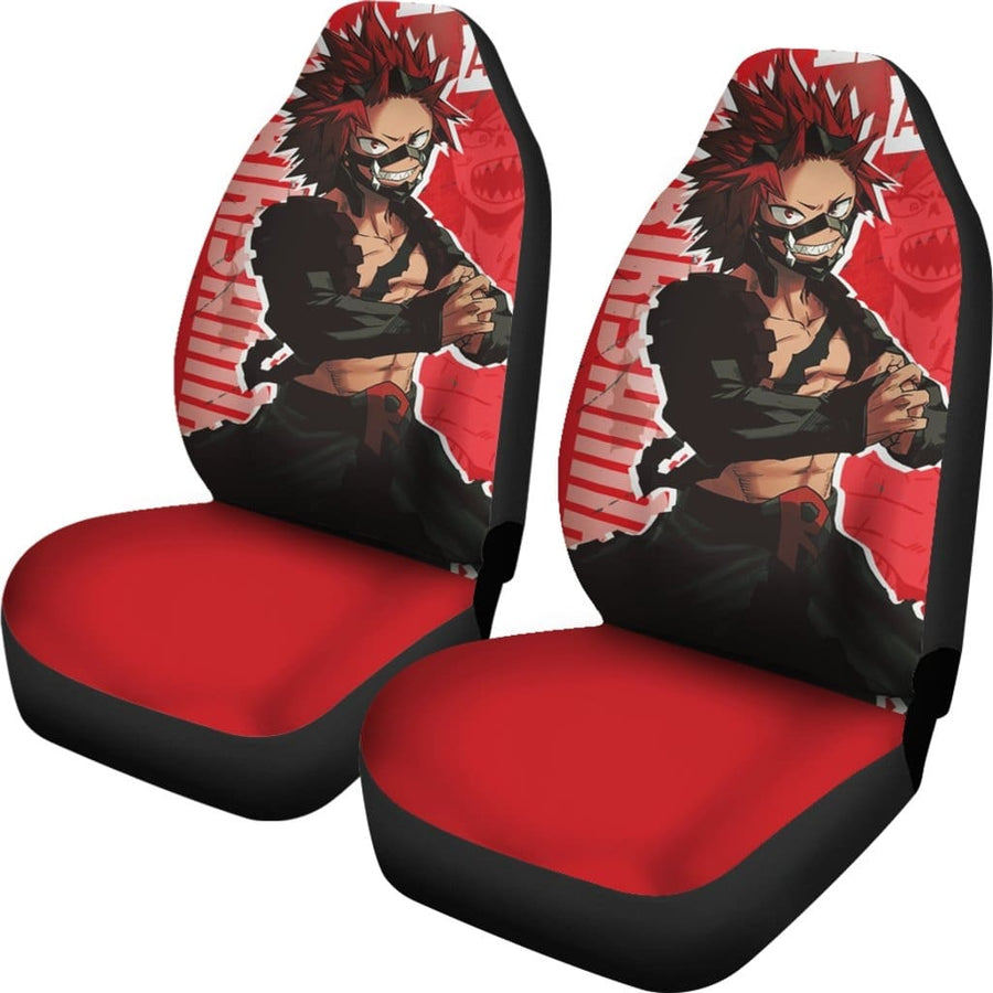 Kirishima My Hero Academia Car Seat Covers - 99Shirt