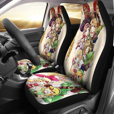 link-and-zelda-car-seat-covers