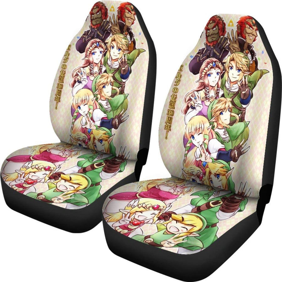 Link And Zelda Car Seat Covers - Amazing Best Gift Idea