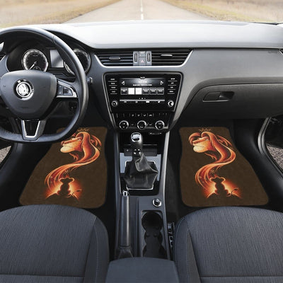 Lion King Front And Back Car Mats (Set Of 4) - Car Mats
