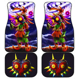 Majoras Mask Front And Back Car Mats (Set Of 4) - Car Mats
