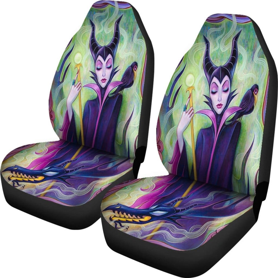 Maleficent Car Seat Covers - Amazing Best Gift Idea