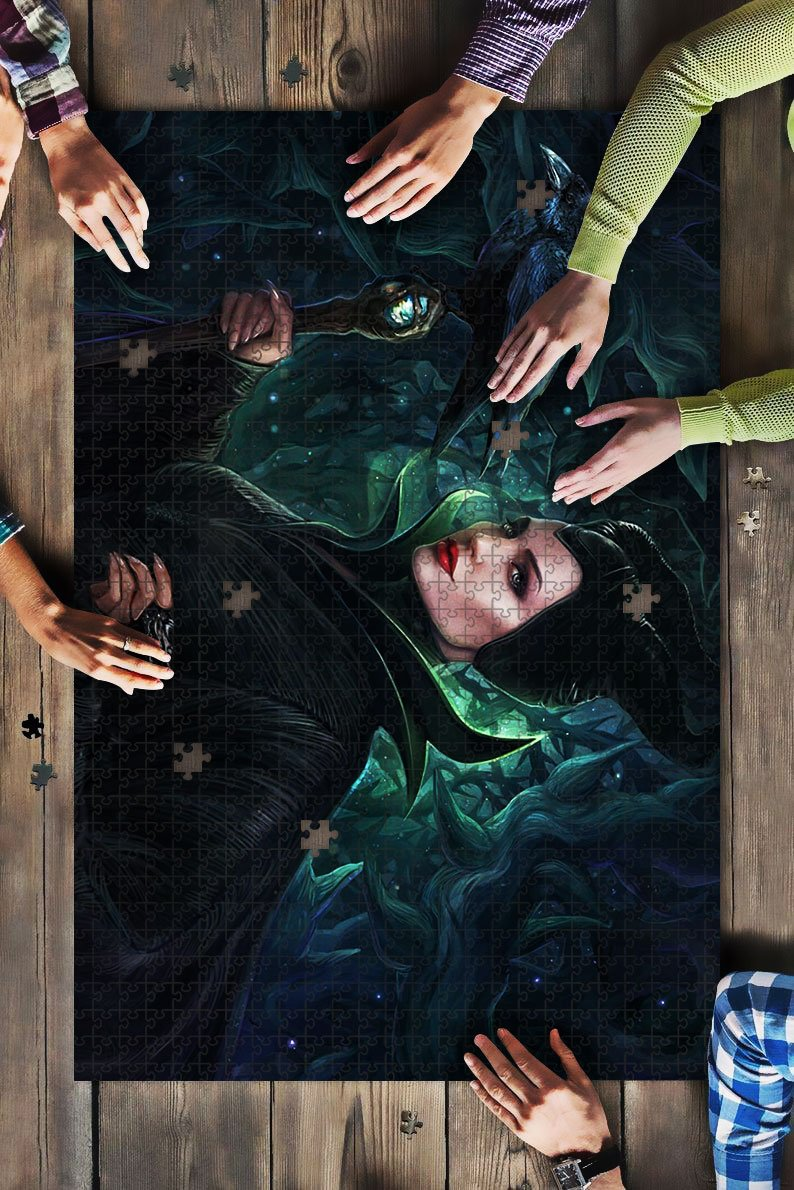 maleficent JIGSAW Puzzle mc