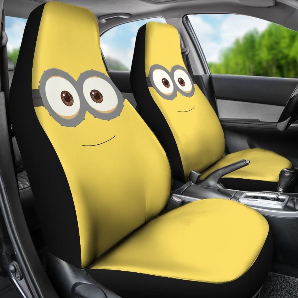 Fine Minions Car Seat Covers Andrewgaddart Wooden Chair Designs For Living Room Andrewgaddartcom