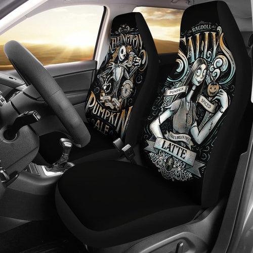 Nightmare Before Christmas Car Seat Covers 4 - Car Seat Covers