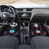 Nightmare Before Christmas Front And Back Car Mats (Set Of 4) - Car Mats