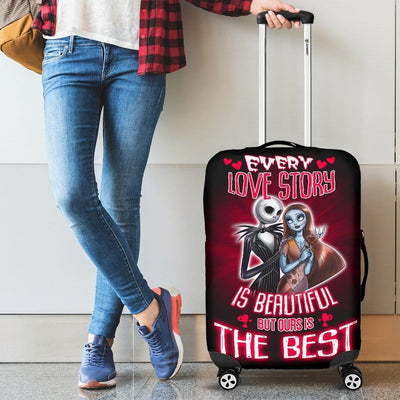 Nightmare Before Christmas Love Luggage Covers - Luggage Covers