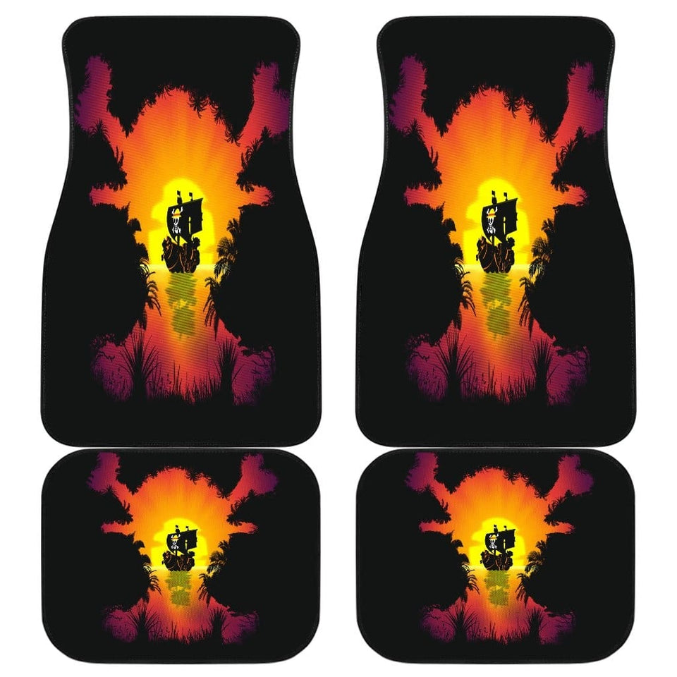 One Piece Front And Back Car Mats (Set Of 4) - Car Mats