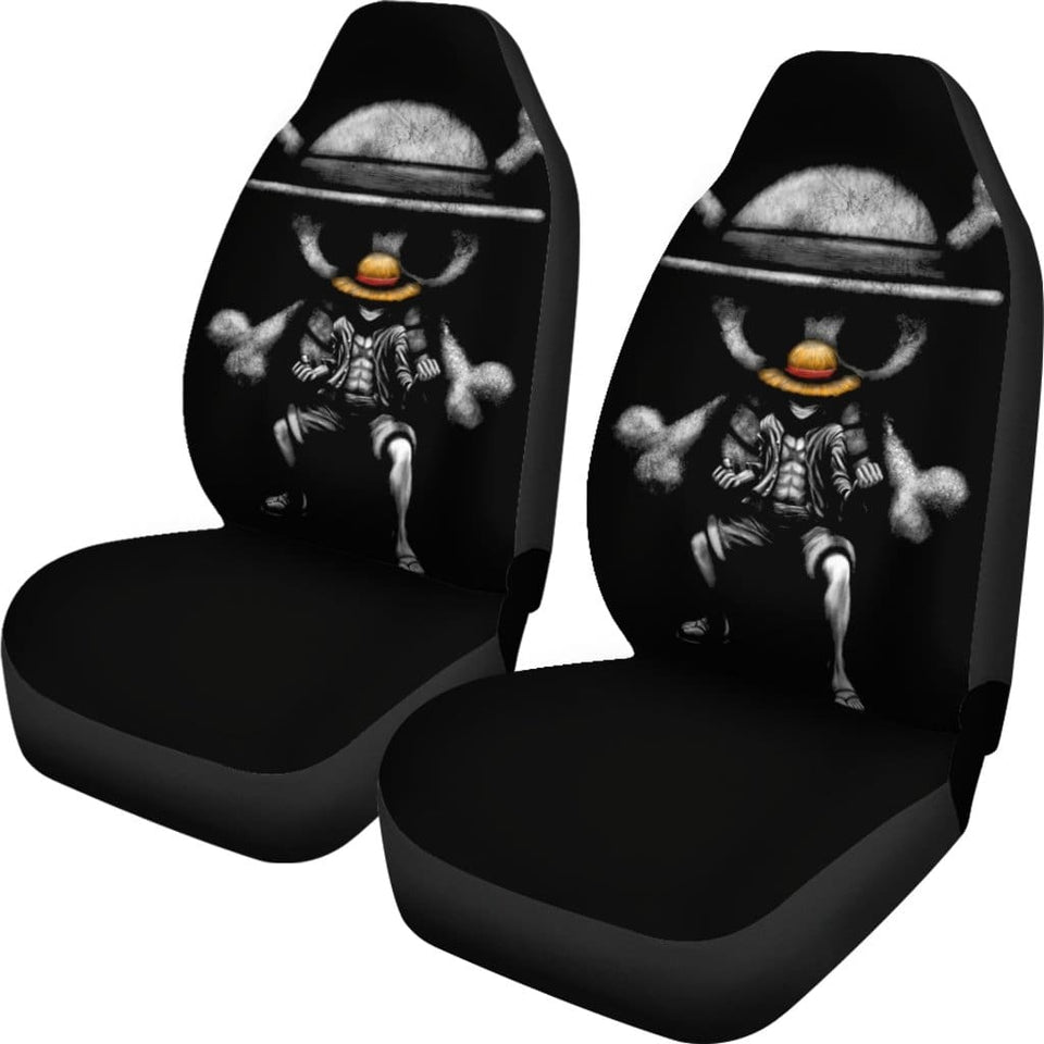 One Piece Luffy Car Seat Covers - Car Seat Covers
