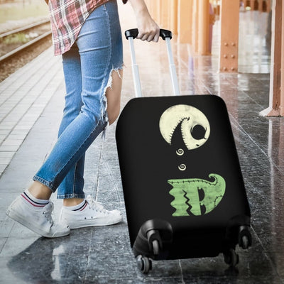 Pacman Jack Skellington Luggage Covers - Luggage Covers