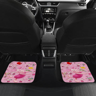 Piglet Front And Back Car Mats 3 (Set Of 4) - Car Mats