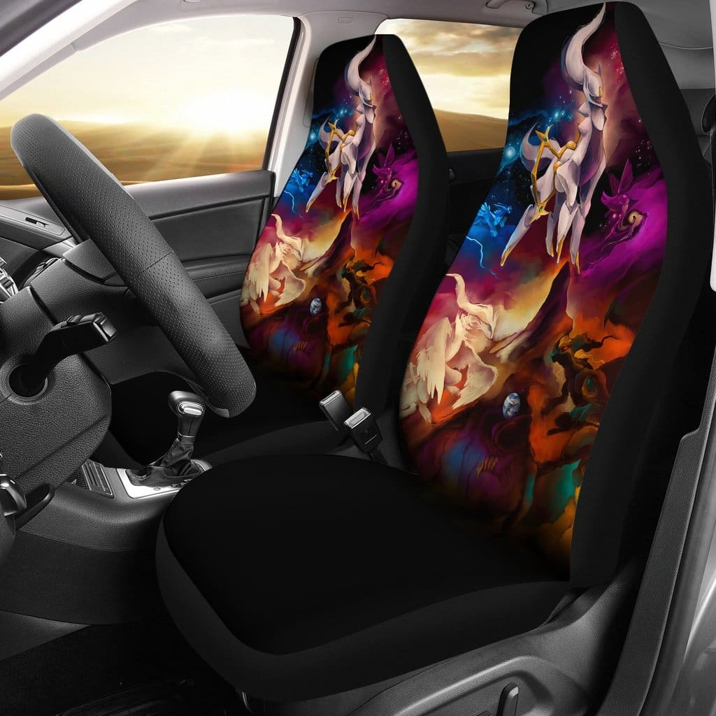 Pokemon Legends Car Seat Covers - Car Seat Covers
