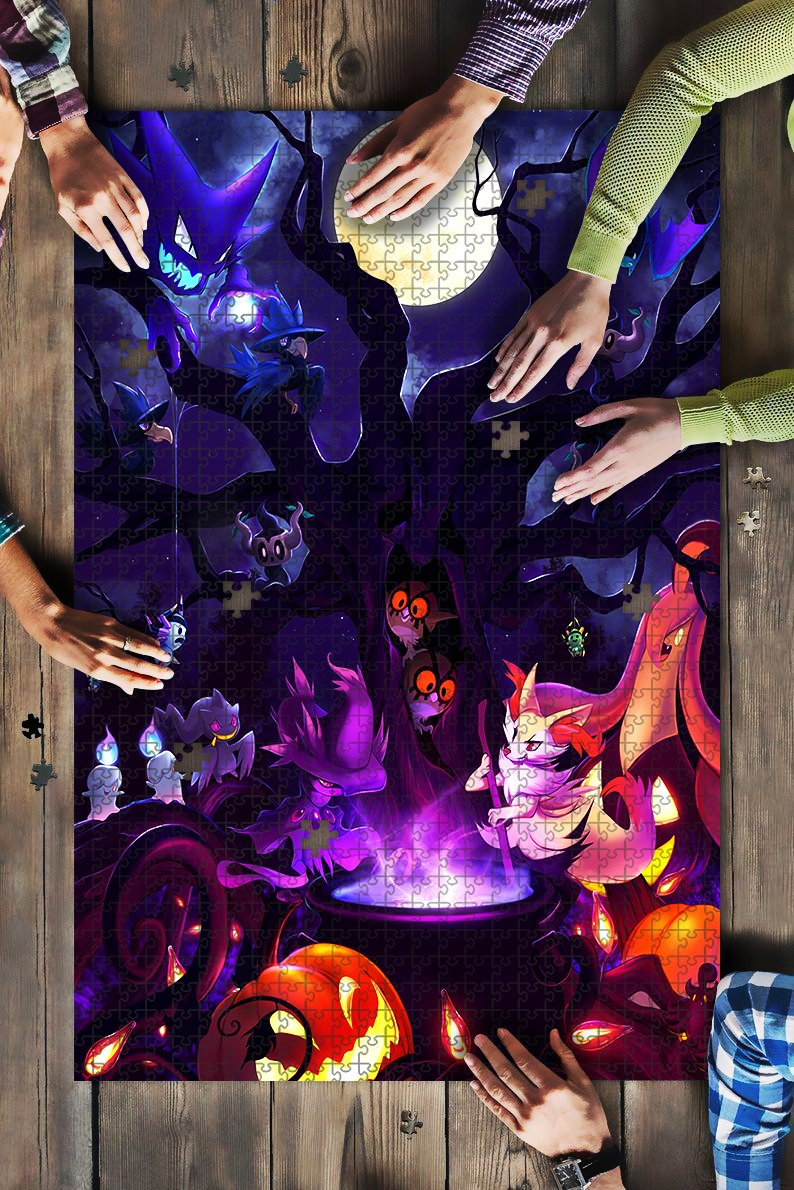 pokemon halloween JIGSAW puzzle