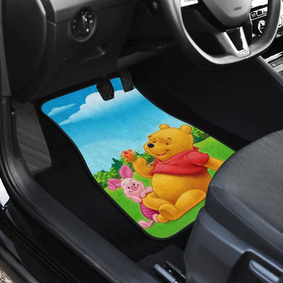 Pooh And Piglet Front And Back Car Mats 3 (Set Of 4) - Car Mats