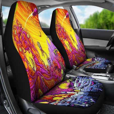 rick-morty-car-seat-covers