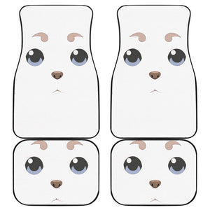 Sadaharu Gintama Front And Back Car Mats (Set Of 4) - Car Mats