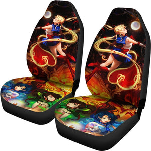 Sailor Moon Car Seat Covers - Car Seat Covers