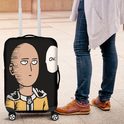 Saitama One Punch Man Luggage Covers - Luggage Covers