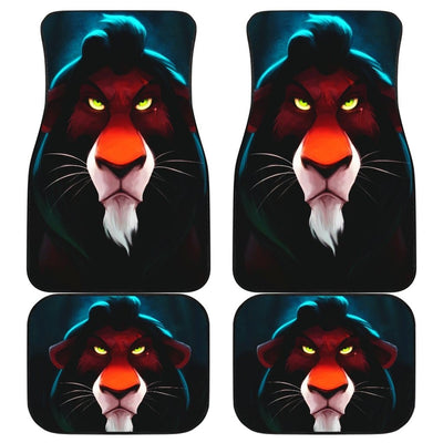 Scar Front And Back Car Mats (Set Of 4) - Car Mats